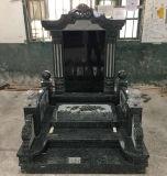 En Asie du sud-est de type pierre tombale de granit noir/pierre tombale