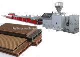 Hölzernes PET erstellt Extruder/Herstellung-Maschinen für Fußboden/Platte ein Profil