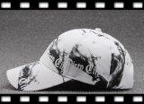 熱い販売の黒いですか白写真6のパネルの綿の野球帽
