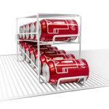 La bebida de escritorio conserva el estante promocional de la bebida del estante de alambre del hierro