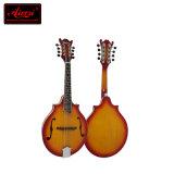 Feste oberste doppelte Cutway Art-akustische Mandoline China-Aiersi