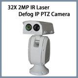 el laser de 32X 2MP IR despeja la niebla de la cámara del IP PTZ