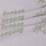 El bambú&Poliéster teñido de Jacquard tejido colchón