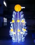 110-220V imperméabilisent 3D DEL modelant la lampe pour la décoration extérieure de Noël