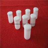 Forme haute la fonte de quartz blanc laiteux creuset avec couvercle