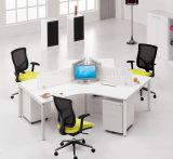 Montagem fácil Modular Nova Partição de madeira para escritórios com gaveta (SZ-WST653)