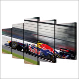 HD afgedrukt Red Bull die het Schilderen van de Groep het Canvas van het Beeld van de Affiche van het Af:drukken van het Decor van de Zaal van het Af:drukken van het Canvas rennen