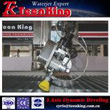 Надежный металлический режущий Machine-Teenking Waterjet режущей машины
