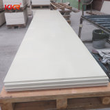 Wit 100% Zuivere Acryl Stevige Oppervlakte 12mm van de Gletsjer van China