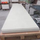 Witte Zuivere Acryl Stevige Oppervlakte 12mm van de gletsjer