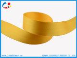 耐久の方法身につけられる明るく黄色いナイロンウェビング