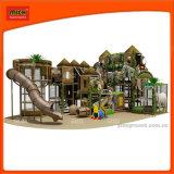 أطفال [أموسمنت برك] ملعب داخليّة مع منزلق بلاستيكيّة