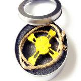Ювелирные изделия ожерелья Tri напальчника игрушки фокуса перста обтекателя втулки руки непоседы каркасные перекрестные привесные