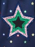 Chiusura lampo piena Hoodies della stella delle donne su ordinazione