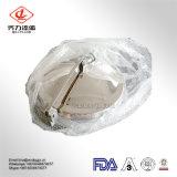 Fabricante 304 da alta qualidade e tampa de câmara de visita sanitária do aço 316L inoxidável