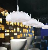 Luz de seda do pendente do dirigível da iluminação de Haning do estilo creativo de Italy para o projeto