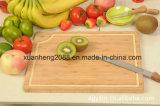 Projetar a placa de estaca de bambu gravada laser antiga do queijo para a cozinha