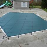 Coperchio cinese del raggruppamento di sicurezza della maglia per le piscine di Inground