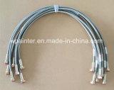 """7/8 """" di tubo flessibile dell'acciaio inossidabile del Teflon di SAE100 R14 PTFE"""