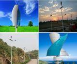 générateur d'énergie éolienne de 400W 12V/24V Vawt pour des réverbères
