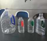 반 자동적인 식용유 플라스틱 병 부는 기계