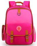 Quatro cores personalizaram o saco de ombro coreano do dobro da trouxa do estilo das meninas dos meninos da classe do Schoolbag 1-3-6 das crianças