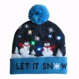 Beanie шлема яркия блеска Xmas рождества Unisex связанный проблескивая (HW143)