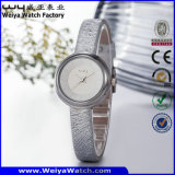 Orologio caldo delle signore delle coppie della cinghia di cuoio del regalo di vendita (Wy-089C)