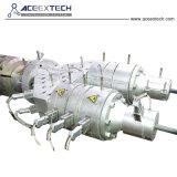 Tubo de PVC conductos eléctricos que hace la máquina