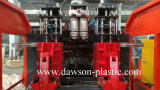 1L 5L HDPE/PE 윤활유 기름 병 두 배 역 가득 차있는 자동적인 밀어남 중공 성형 기계