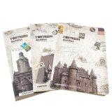Nueva cuaderno Softcover modificado para requisitos particulares de la cubierta del diseño impresión a todo color