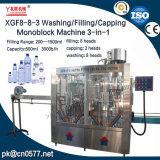 Máquina de Monoblock do lavagem/encher-se/tampar para a espuma do banho (XGF8-8-3)