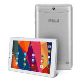 "7 da "" prata dupla do núcleo 16GB FM G/M SIM do quadrilátero do Android 7.0 3G GPS WiFi de Phablet tabuleta"