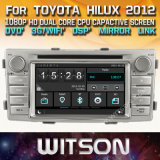 "Witson автомобильных мультимедиа Windows DVD плеер для Toyota Хайлюкс"" 2012"