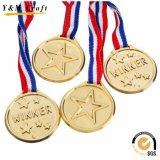 カスタマイズされたロゴの中国メーカーの金属のスポーツメダル