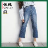 Les femmes détruit occasionnel rippés affligé Skinny Jeans Denim
