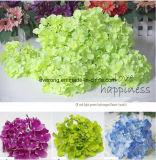 La seta specifica di vendita diretta della fabbrica fiorisce il Hydrangea di verde del fiore artificiale
