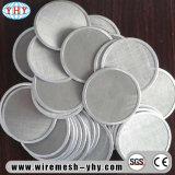 Acero Inoxidable Aluminio Filtro de malla de alambre redondo