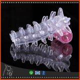 De trillende Kokers van het Vergrotingsapparaat van de Penis van de Condomen van het Kristal buigen Ringen voor Mensen, de Erotische Producten van het Geslacht