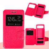5 tamaños caso Universal para Smartphone, el cuero Flip Universal el caso del teléfono con soporte de teléfono Universal Cubierta para iPhone 5.5