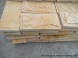 Nuevo mosaico de adoquines de piedra arenisca de setas de Australia para el revestimiento de fachada de la pared