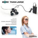 Enfoque automático nuevo médico dental lupa binocular Lupa cristal óptico