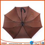 Guarda-chuva durável elegante do golfe do Pongee da alta qualidade 190t