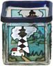 Dibujo de color de vidrio y cristal Artware artesanía - JG3053L