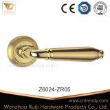 세라믹 레버 손잡이 (z6024-zr05)를 가진 아연 합금 문 손잡이