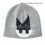 ジャカード帽子の頭骨の帽子によって編まれる帽子の子供の帽子の帽子
