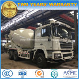 Shacman 시멘트 드럼 트럭 6X4 구체 믹서 트럭