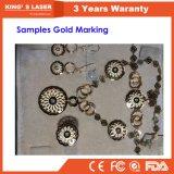 Máquina de gravura do laser da fibra Desktop quente do metal do Sell 10W 20W 30W 40W 50W mini para o aço inoxidável de Jewellry