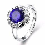 Ringen van de Vrouwen van het Huwelijk van de Bloem van CZ van het Ontwerp van de Juwelen van de manier de Nieuwe Elegante