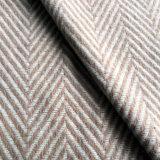 Ткань шерстей одежды из твида шерстяная шевронная, сплетенная ткань пальто шерстей, шерсть смешала ткань